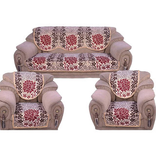Shiv Kirpa Polycotton 5 Seater Sofa Cover
