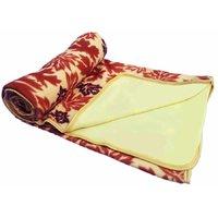 JK Handloom Antipiling Fleece Double Ply Blanket Double Bed Ty
