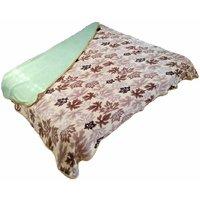 JK Handloom Antipiling Fleece Double Ply Blanket Double Bed TBR