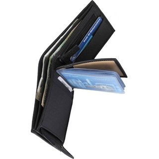 Styler Men Artificial Leather Wallet (Color May Very)