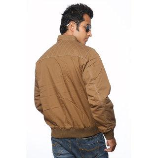 Duke Men Jacket In Mud Brown