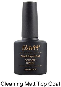 Elite99 1PC Matt Top Coat Nail Art UV Gel Polish 10ml Matte Top Coat LED UV Soak Off Hot Sale UV Gel Polish