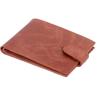 Slim Wallet Purse Genuine Leather Designer Tan Color Mens Birthday Gift Anniversary