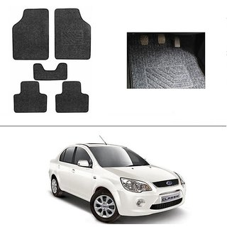 Autostark Best Quality Set Of  Carpet Grey Car Foot Mat Car Floor Mat For