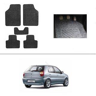AutoStark Best Quality Set of 5 Carpet Grey Car Foot Mat / Car Floor Mat for Fiat Palio D