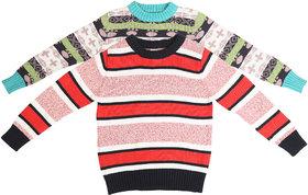 Qeboo Combo  of 2 Woollen Sweaters
