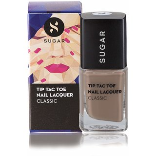 SUGAR Tip Tac Toe Nail Lacquer - 011 Cream Come True (Brown Nude)