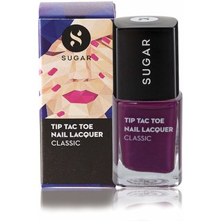 SUGAR Tip Tac Toe Nail Lacquer - 014 Purple Prose (Purple)