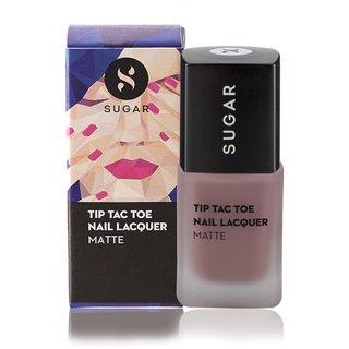 SUGAR Tip Tac Toe Nail Lacquer - 007 Carpe Creme (Matte Nude Pink)