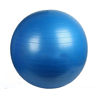 Exercise Gym ball 75 CM WITH PUMP ( Assorted Colors )