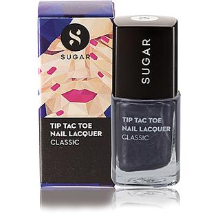 SUGAR Tip Tac Toe Nail Lacquer - 002 Goodness Gray-Cious (Black Grey)