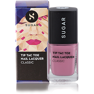 SUGAR Tip Tac Toe Nail Lacquer - 004 Mauve Mountains (Dusty Pink)