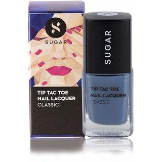 SUGAR Tip Tac Toe Nail Lacquer - 015 Seal The Slate (Blue Grey)