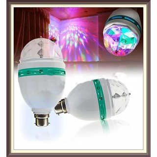 LED Rotating Disco Bulb
