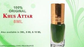 8ml. Khas / Khus  Perfume I Itra  attar - Say No to DEODORANTS  GIFT Roll ON