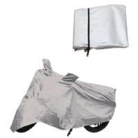 Enfield Bullet Bike Body Cover Silver Color
