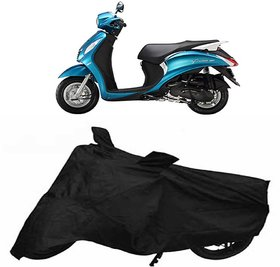love4ride Yamaha FASCINO Scooty Cover Black