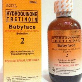RDL Babyface remove nti-Ane /Depigmenting agent and blamish