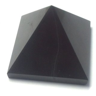 Black Tourmaline Healing Crystal Gemstone Reiki Meditation Pyramid Remove Negativity