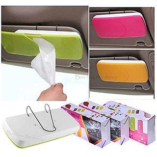 Evershine New Auto Car Sun Visor ABS Facial Tissue Box/Tissue Holder/Paper Towel Holder