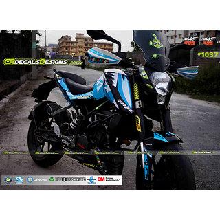 CR Decals Ktm Duke VR46 SHARK EDITION Sticker Kit (Duke 200/390)