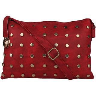 Tarshi Pu Red Sling Bag For Women