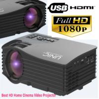UNIC UC36 LED 1080p HD VIDEO Projector Enjoy 100 Inch B