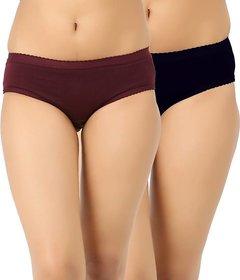 Branded Women Multicolor Panties (Pack of 2)