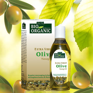 Indus Valley Daily-use Pure Olive Massage Oil For Baby Skin Treatment