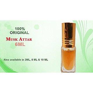 ReBuy Musk Attar Itra Undiluted Long Lasting Men's Perfume-6 ML