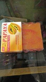 PURE HERBAL PAPAYA FRUITY SOAP (4 IN 1) FOR SKIN WHITENING.