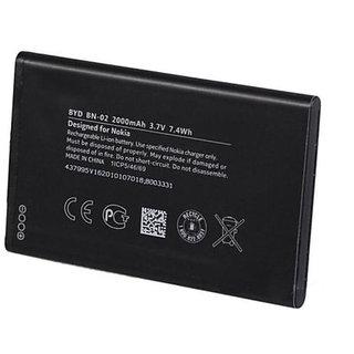Nokia BN-02 Nokia XL DUAL Phone 2000mAh Battery