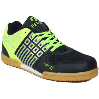 Feroc Non Marking Shot 21 Unisex Badminton Tennis Vollyball shoes