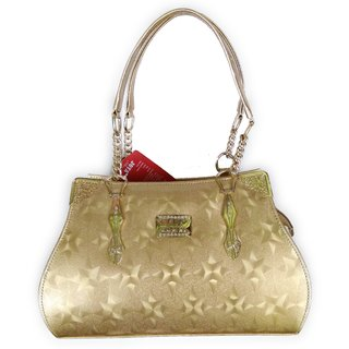 Joya  Hand- Held Handbag | Gold Color