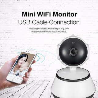 360 Mini Smart WiFi HD 720P With Motion Detect and Night Vision IP Wireless Camera