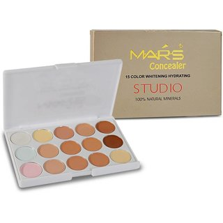 Mars 15 Color Whitening Hydrating Concealer  (HGOT)