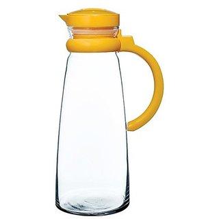 Pasabahce Basic jug with orange handle - Set of 1 - 1300 ml