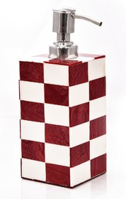 Crafted Ideas Soap Dispenser In Resin. (5 Height X 2.5 )