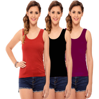ff9e1507fe3331 Buy Hothy Women s Multicolor Camisole Bra (Pack Of 3) Online - Get ...