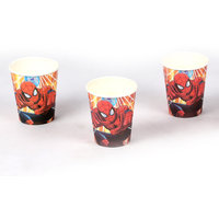Funcart Funcart Spiderman Theme 9oz Paper Cup 6 Pcs Pac
