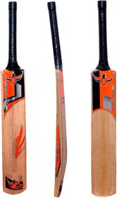 Natural Polish - Popular Willow Cricket bat -  Size Full