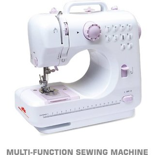 Tradeaiza Sewing Machine Sewing505A12Stitch Electric Sewing Machine( Built-in Stitches 12)
