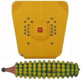 Acupressure Foot Mat With Acupressure Karela Roller Wooden With Full Body Massage