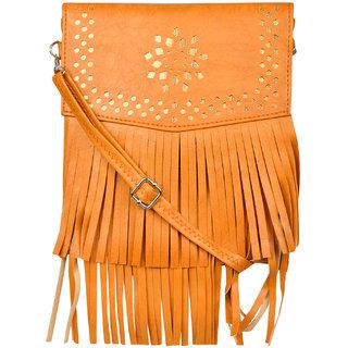Exotique Women's Tan Sling Bag