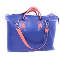 Mexico Shopper Bag . - Blue