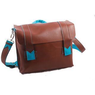 mexico messenger bag - tobacco