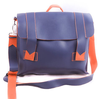 mexico messenger bag - blue