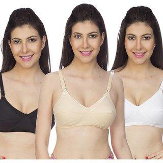95b1a85e40e67 Buy Angel homes Women s Nursing Multicolor Bra Online - Get 80% Off