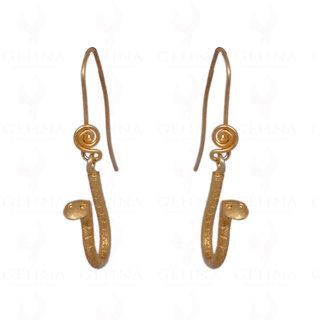 Snake Shape 925 Sterling Silver Earrings
