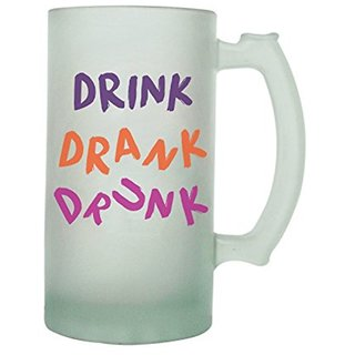 The Crazy Me Drink Drank Frosted Beer Mug